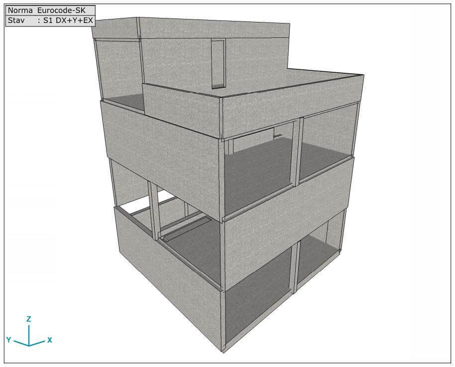 Rodinný Dom Monolit Bvk Pro Statika Stavieb 01