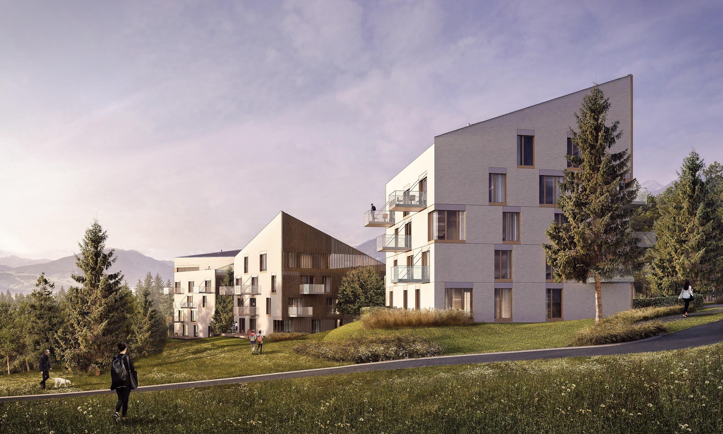Apartmanovy Dom Hillside Clt Panely Drevostavba Ekologia Viz 05